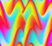 Colorful Abstract Background, Waves Royalty Free Stock Photography