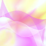 Colorful abstract background. With white and purple striped waves royalty free illustration