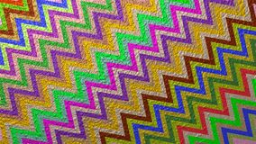 Colorful abstract background with zigzag pattern and painted wall texture. Colorful abstract rough background with zigzag pattern and wall paint appearance Royalty Free Stock Photos