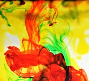 Colorful Abstract Backgrounds and Patterns. Colorful Abstract Backgrounds and Patterns floating in water Stock Photos
