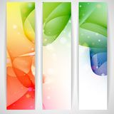 Colorful Abstract Banner. Stock Photography