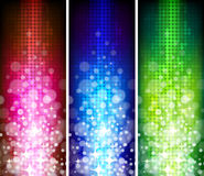 Colorful Abstract Banner stock illustration