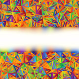 Colorful Abstract Banner template. EPS 8 Royalty Free Stock Photography