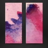 Colorful Abstract Banner Royalty Free Stock Photos