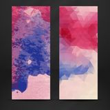Colorful Abstract Banner Stock Photo