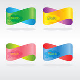 Colorful Abstract Banners. Stock Images