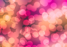 Colorful Abstract Bokeh Background Royalty Free Stock Image
