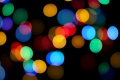 Colorful Abstract Bokeh Background stock photos