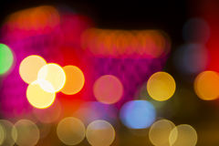 Colorful abstract bokeh background. New Year. Christmas Stock Images