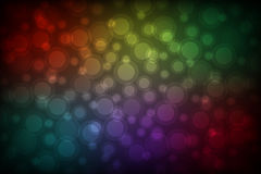 Colorful abstract bokeh background. Vector illustration Royalty Free Stock Photography