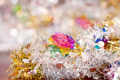 Colorful abstract bokeh holiday Royalty Free Stock Photography
