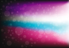 Colorful  abstract bokeh lights background Royalty Free Stock Photo