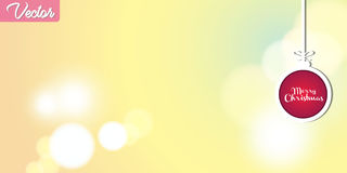 Colorful Abstract Bokeh Vector Background Stock Images