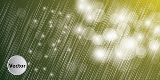 Colorful Abstract Bokeh Vector Background Royalty Free Stock Image