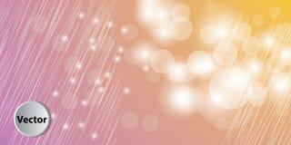 Colorful Abstract Bokeh Vector Background Stock Photos