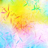 Colorful abstract bright background with small particles. Decorative design texture. Festive overlay Stock Images