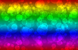 Colorful abstract bubbles background Stock Photos