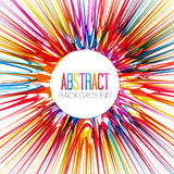Colorful abstract burst Royalty Free Stock Photos