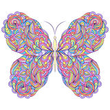 Colorful abstract butterfly Royalty Free Stock Photo
