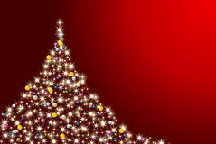Colorful abstract christmas tree Royalty Free Stock Photography
