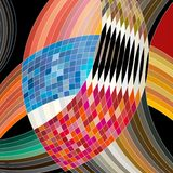 Colorful abstract circles Royalty Free Stock Images