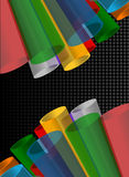 Colorful abstract composition Stock Photo
