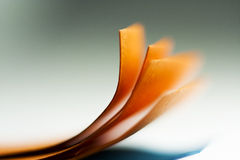 Colorful abstract composition with paper Stock Photo