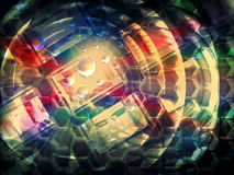 Colorful abstract creativity concept background Royalty Free Stock Photos