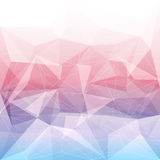 Colorful abstract crystal background Royalty Free Stock Image