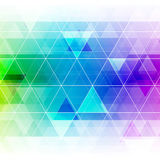 Colorful abstract crystal background. Royalty Free Stock Image