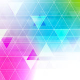 Colorful abstract crystal background. Royalty Free Stock Images
