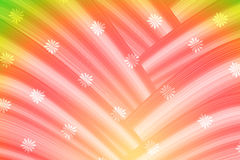 Colorful abstract curve background Stock Images