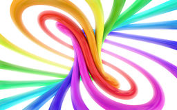 Colorful abstract 3d background Stock Photo