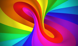Colorful abstract 3d background Royalty Free Stock Image
