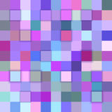 Colorful abstract 3d cube background. Colorful abstract 3d cube mosaic background from squares Royalty Free Illustration