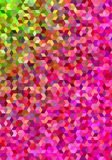 Colorful abstract 3d cube mosaic background. Colorful abstract 3d cube mosaic vector background design Stock Photo