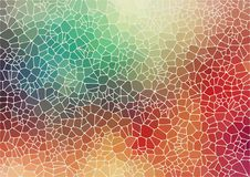 Colorful abstract 2D geometric background. Abstract composition with voronoi geometric shapes for your design Vector Illustration