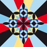 Colourful geometric design Stock Photography