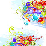 Colorful abstract designs Stock Photos