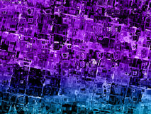 Colorful abstract distorted squares background texture Stock Image
