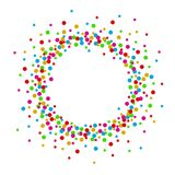 Colorful abstract dot background with space for text. Illustration of Colorful abstract dot background with space for text Stock Images