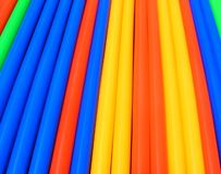 Colorful Abstract Drink Straw Stock Images