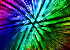 Colorful abstract explosion imitation Royalty Free Stock Photo