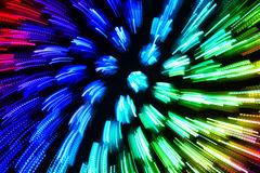 Colorful abstract explosion imitation Royalty Free Stock Photos