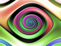 Colorful Abstract eye. Royalty Free Stock Photo