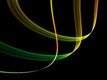 Colorful abstract flow Stock Photos