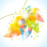Colorful abstract flower Royalty Free Stock Photos