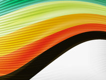 Colorful abstract flowing elegant lines Royalty Free Stock Image