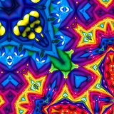 Colorful abstract fractal background Royalty Free Stock Photos