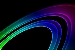 Colorful abstract fractal wave Stock Photo